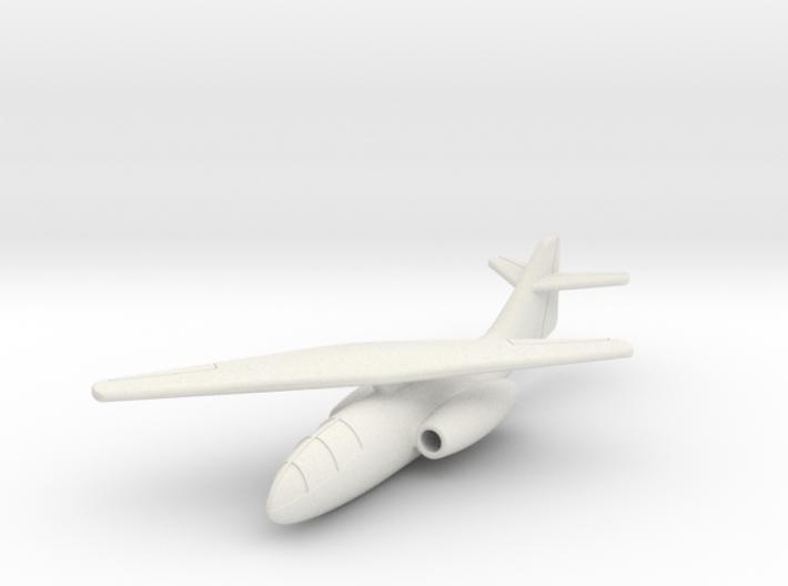 (1:144) Messerschmitt Me P.1109 (Single Wing) 3d printed