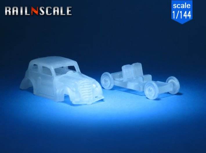 Opel Olympia Limousine (1/144) 3d printed