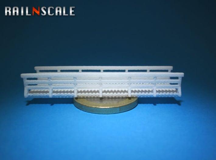Holzbrücke 54mm (N 1:160) 3d printed