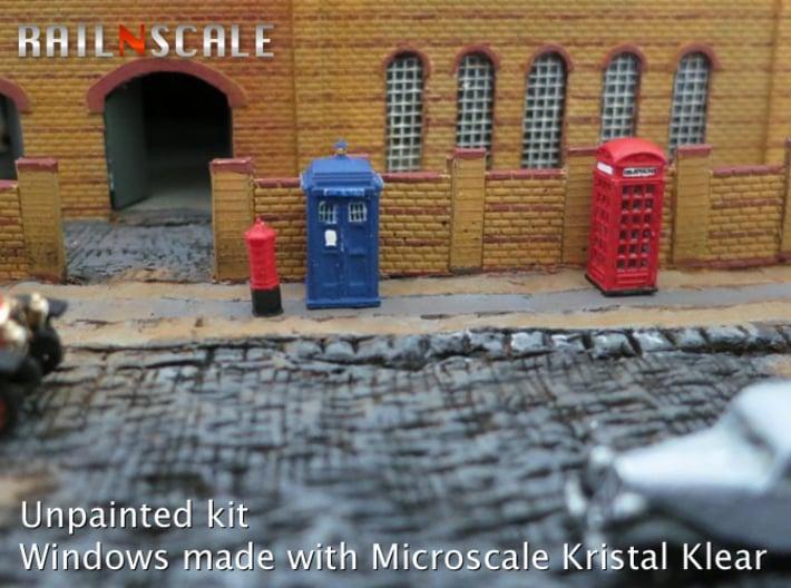 Street furniture SET (N 1:160) 3d printed