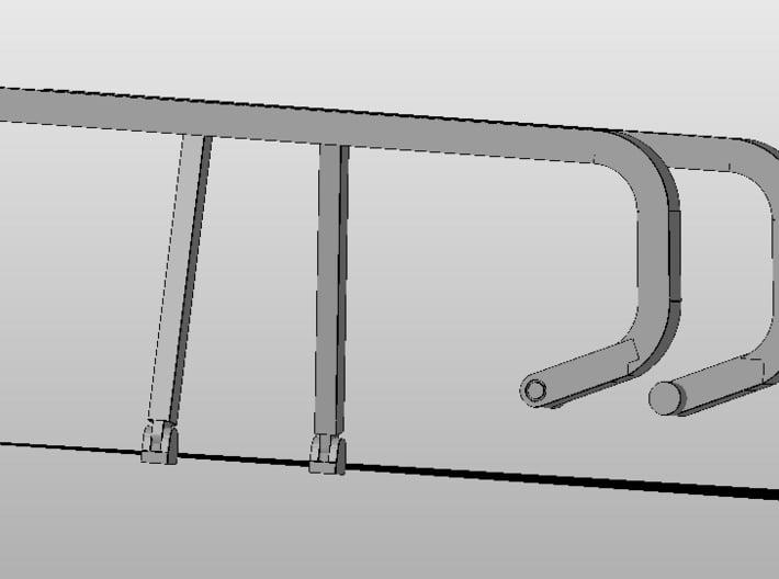 1:50 DM/Norscot D8R Sweeps V2 3d printed