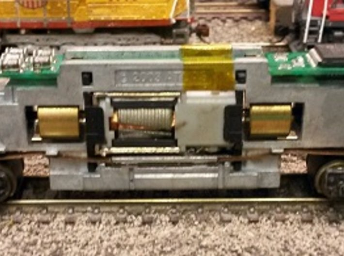 Baldwin DT6-6-2000 Shell Only N Scale 1:160 3d printed Chassis With DCC Decoder & Longer LEDs