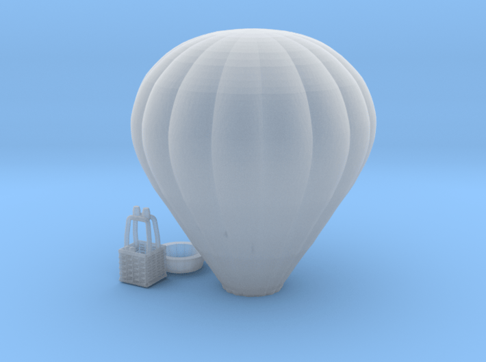 Hot Air Balloon - 1:300scale 3d printed