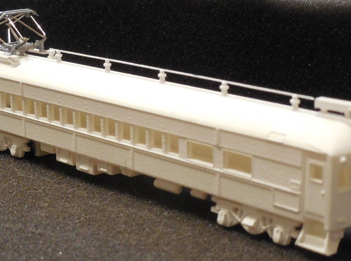 N Scale Reading MU Blueliner Coach (ex-Combine) 3d printed Add a caption...