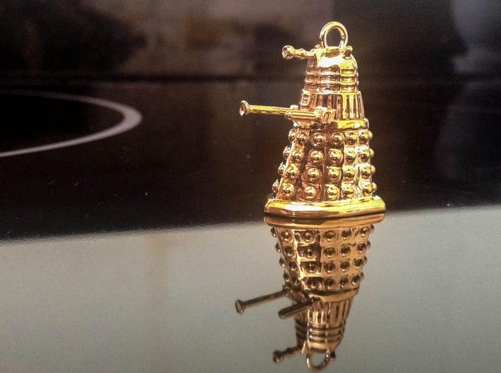 Dalek 10 3d printed Dalek pendant