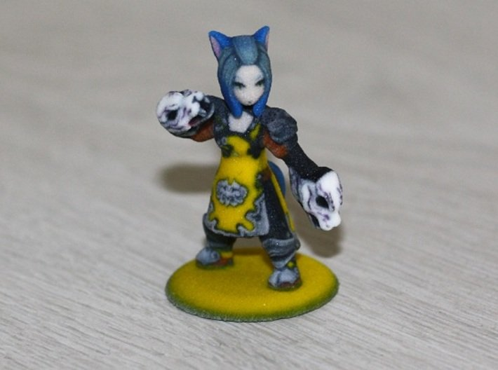 FantasyMinions - FFXIV Yosei (personal) 3d printed