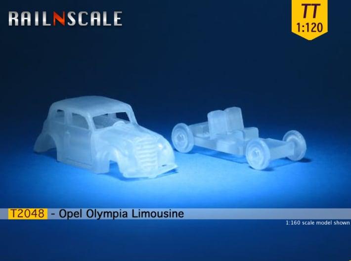 Opel Olympia Limousine (TT 1:120) 3d printed