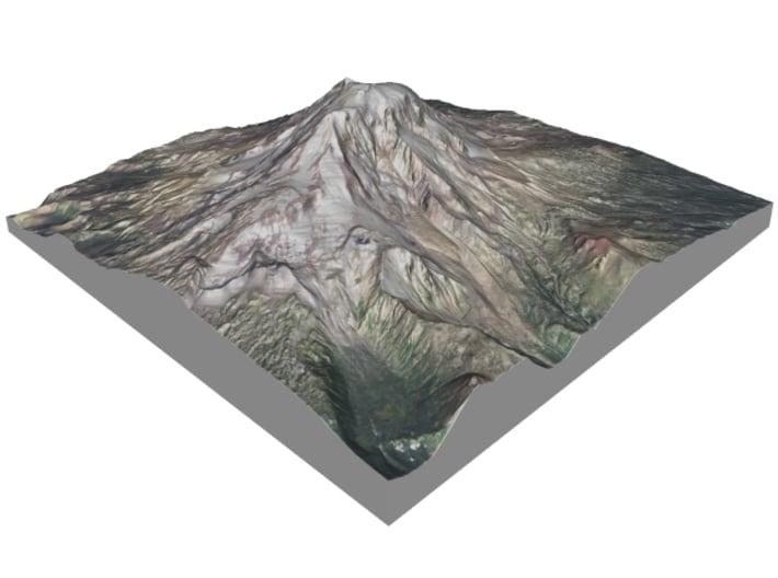 """Mount Adams: 6"""" 3d printed"""