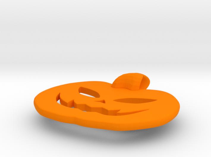 jack-o'-lantern pendant 3d printed