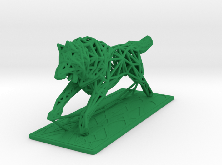 White Wolf 3d printed