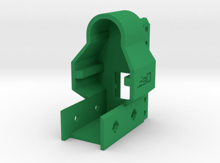 G3 Receiver Picatinny Mount Adapter 3d printed