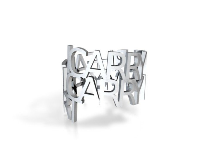icarryourheart ring 3d printed
