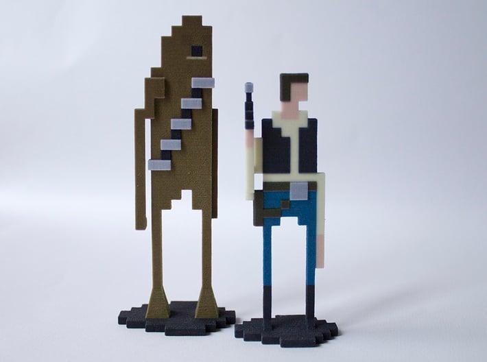 The pixel Walking Carpet 3d printed