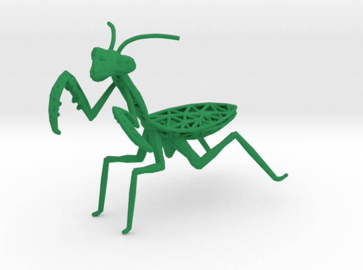Praying mantis 3d printed