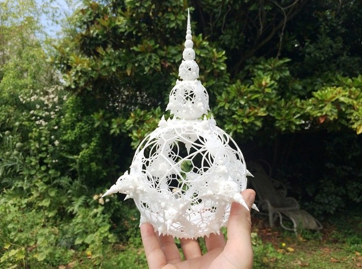 Amazing Wire XL 3d printed White Strong and Flexible
