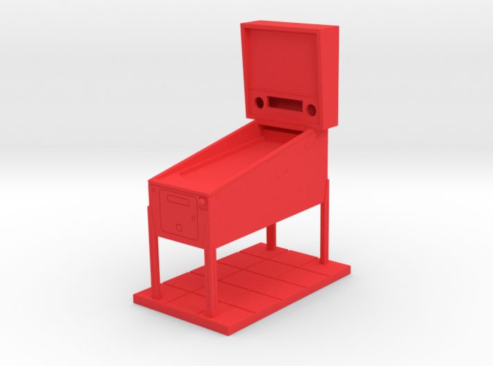 Trophy - Mini Pinball Cabinet v4 - 1:20 Scale 3d printed