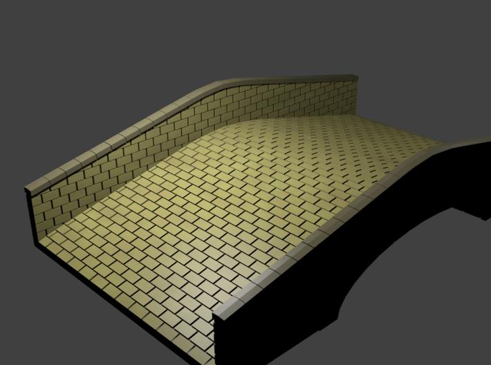 Sandstone Bridge (25mm scale) 3d printed It's a bridge! No trolls included!