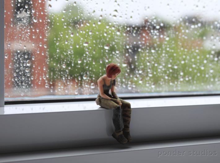 Sad Sintel: *Small* size 6.5 cm 3d printed *Small* 6.5 cm