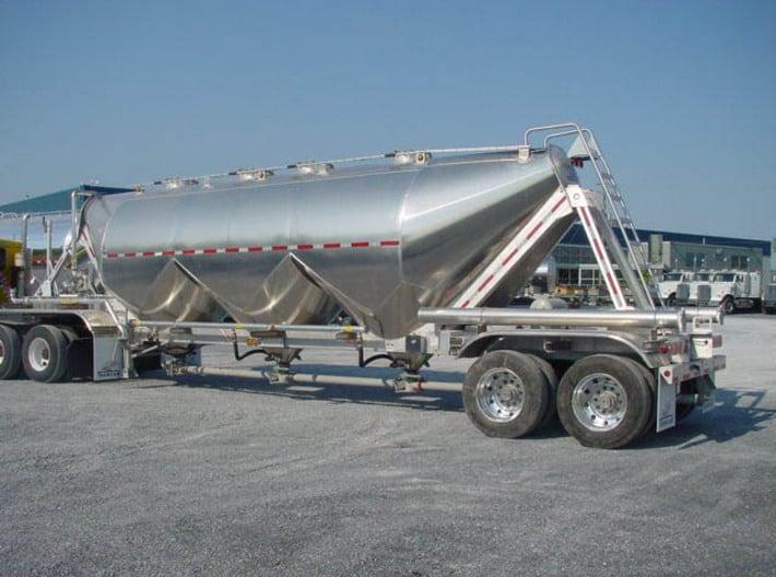 North American Dry Bulk Tank 1:25 3d printed