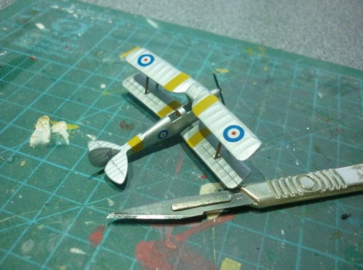 1/144 de Havilland DH82 Tiger Moth 3d printed model by  regbear2003 smooth detail plastic