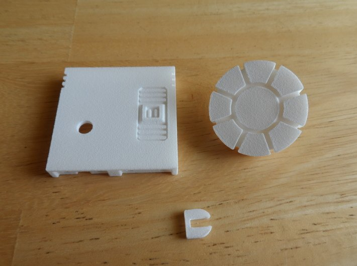 Sunlink - Turret of Iron and Fists 3d printed Install Step 1