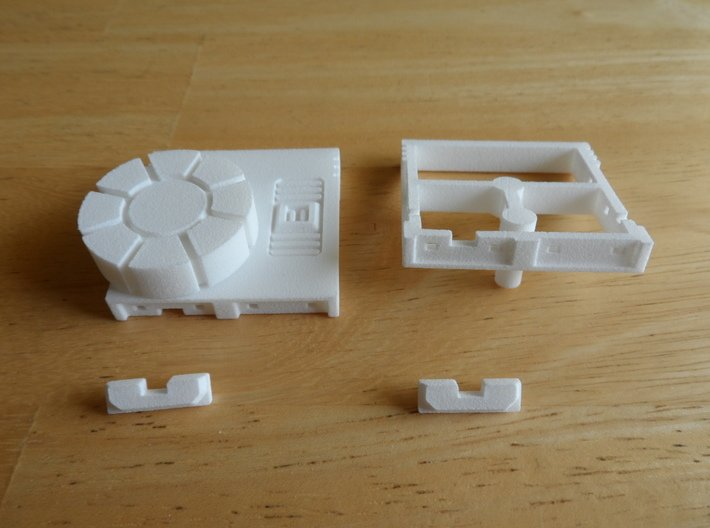 Sunlink - Turret of Iron and Fists 3d printed Install Step 3