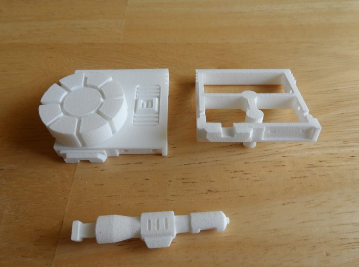 Sunlink - Turret of Iron and Fists 3d printed Install Step 6