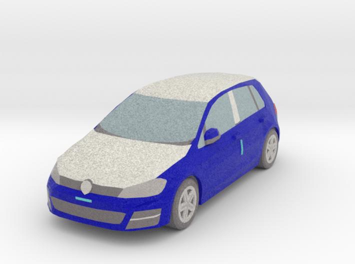 1 Wrapped car (N 1:160) 3d printed