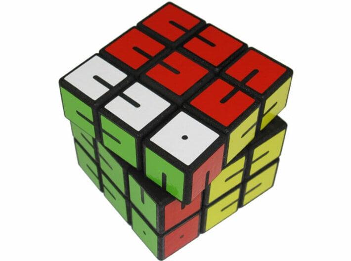 Fall Apart Cube 3d printed