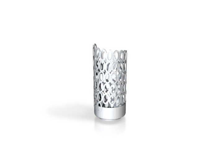 Retro Zero Diamonds Light Poem Design 3d printed