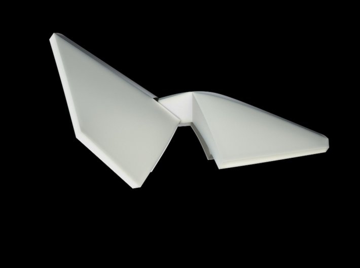 Iron Man Handshield Armor (one hand) 3d printed CG Render (Side Open)
