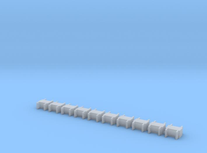 HO/1:87 spmt spacers x10 3d printed