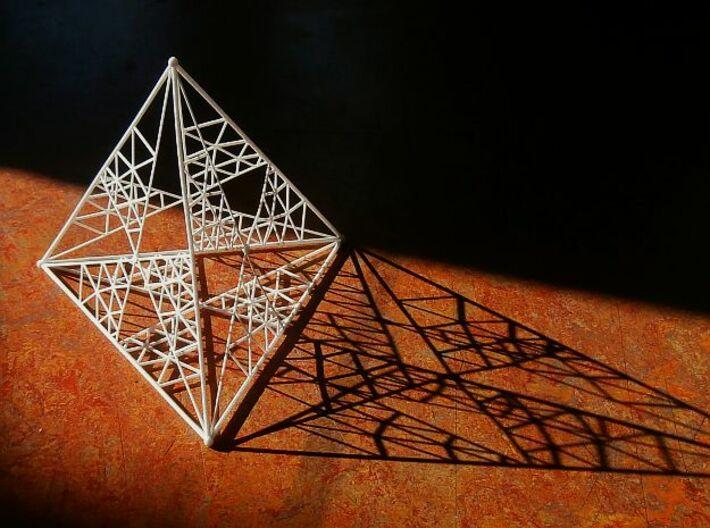 8 cm Tetrahedron 3d printed