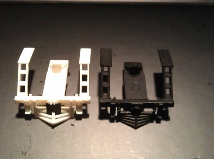 Rowa Y6B 2-8-8-2 Pilot With N Scale MT Coupling 3d printed New and Original Pilot