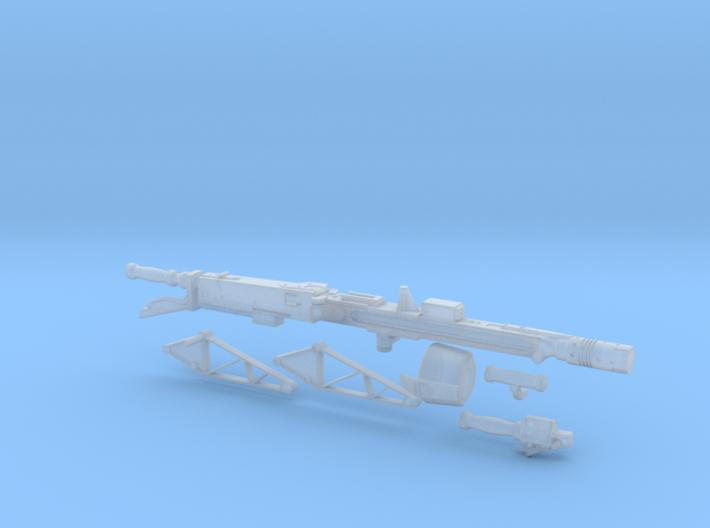 Smartgun in 1:6 scale 3d printed