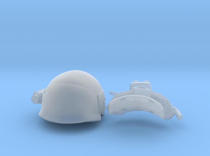 helmet uscm in 1:6 scale 3d printed