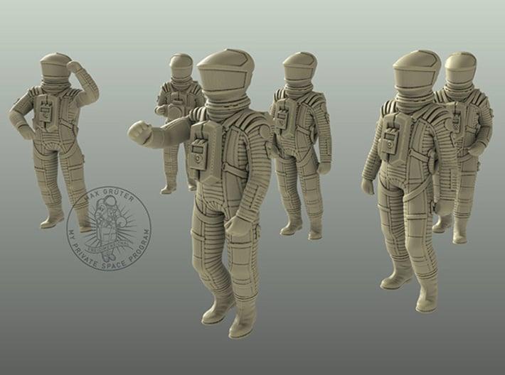SF Lunar Set 1: 48 / 1:55 / 1:72 3d printed