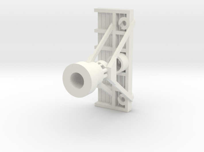 Signal Bracket  (1)  no Heads with Deck 3d printed