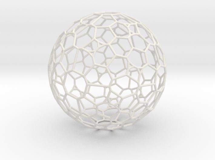 """Gigantic """"irregular"""" polyhedron 3d printed"""