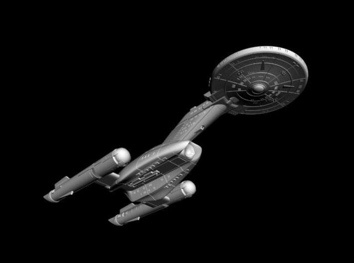 "Federation Wellington Class I  LtCruiser 8"" (TOS V 3d printed"