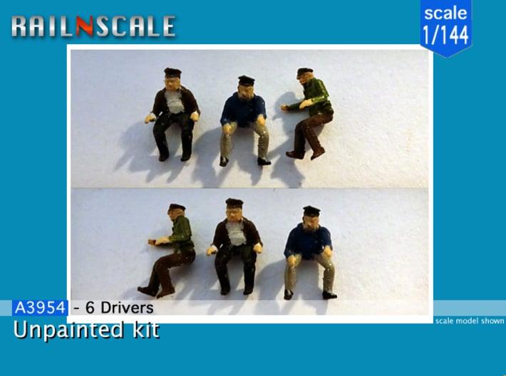 6 Drivers (1/144) era II-VI 3d printed