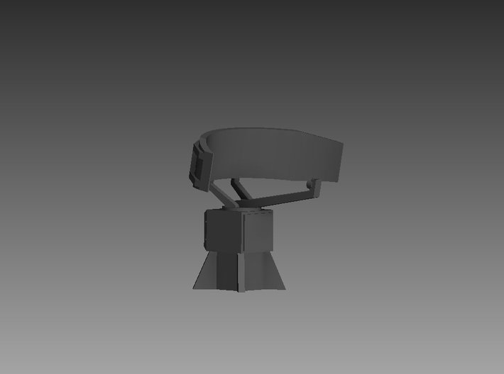Don Kay radar 1/96 3d printed