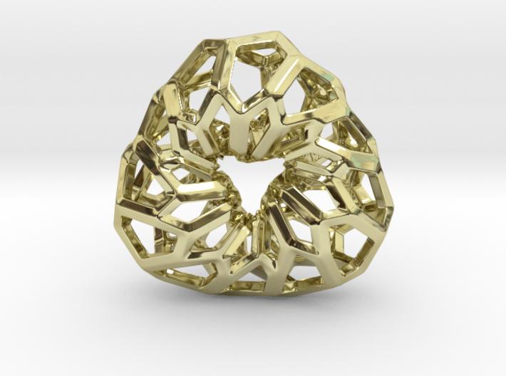 D-STRUCTURA 3T Pendant. 3d printed