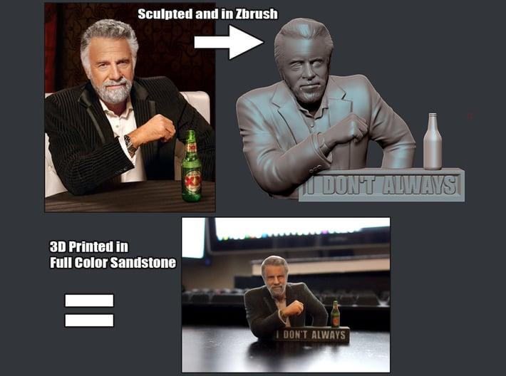 I don't always meme 3D Print 3d printed
