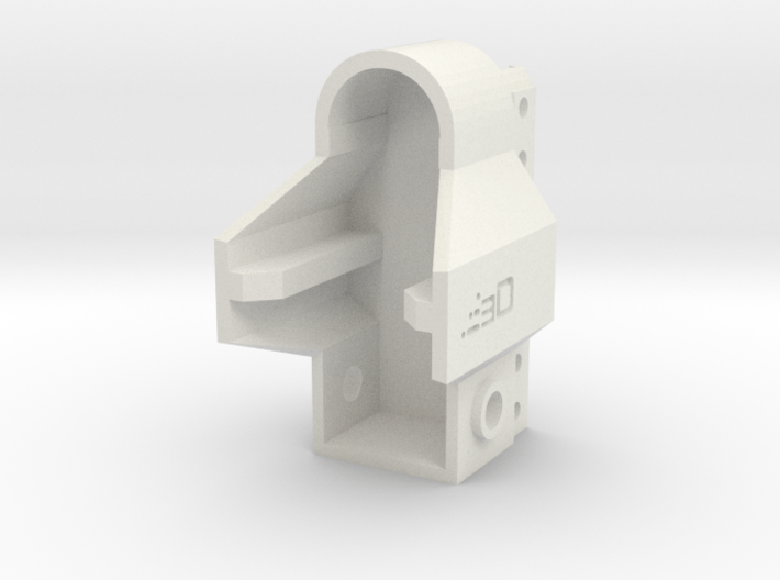 MP5 GBB Receiver Picatinny Mount Adapter V2 3d printed