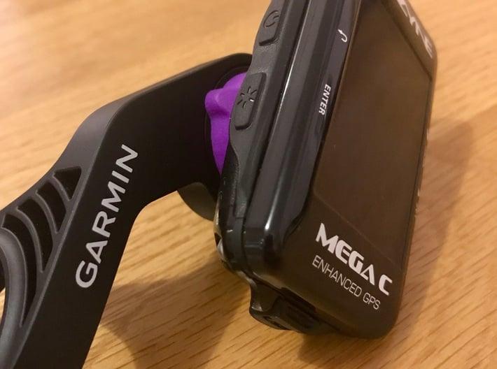 Lezyne GPS Computer to Garmin Adaptor 3d printed