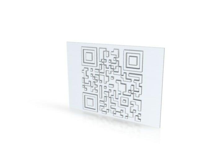 dfeadwire qr 3d printed