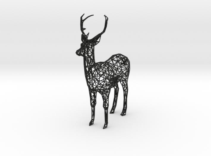 Wireframe DEER XXL 3d printed