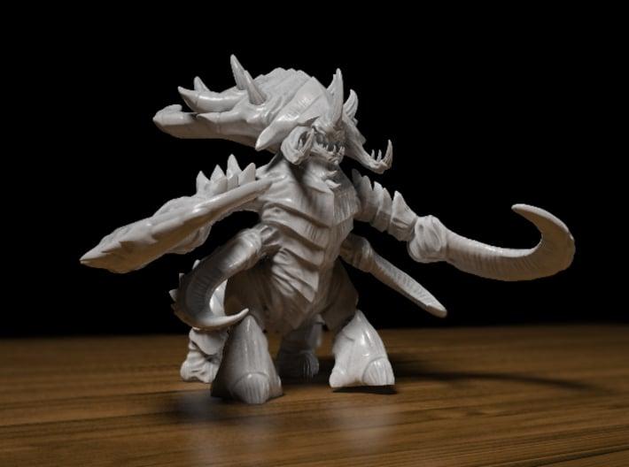 Ultralisk 65mm 3d printed 65mm Ultralisk figurine