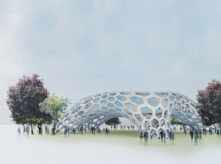 Nature-inspired Structure 3d printed Design